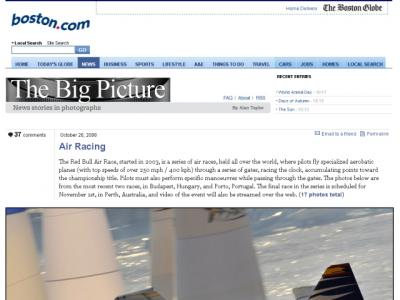 Fotos do Red Bull Air Race