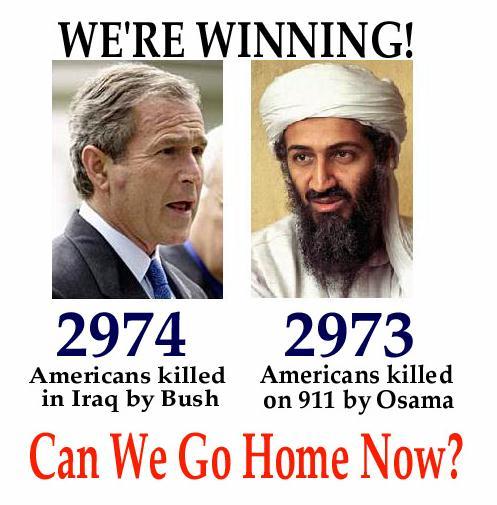 O Bush já está à frente